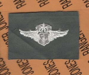 USAF AIR FORCE Flight Suit Command Flight Surgeon 2 inch patch wing