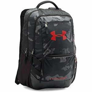 Sports Fitness Features Under Armour Storm Hustle II Backpack BlackRed One New
