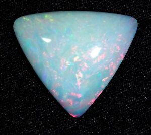 6.7 ct Natural Ethiopian Welo Opal Cabochon - Incredible Color