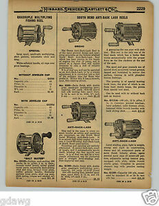 1929 PAPER AD 4 Brothers Eclipse South Bend Anti Back Lash Fishing Reel $9.99