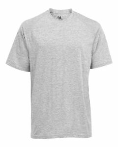 Badger Mens T-Shirt Dry Fit 4820 - B-Tech Tee Moisture Wicking Oxford Adult