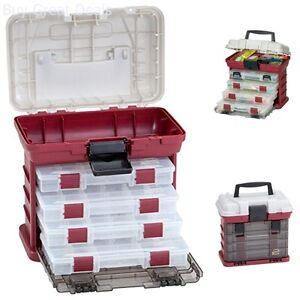 New Tackle Tool Box - 4 Drawer Boxes For More Loaded Lures And Baits Hooks