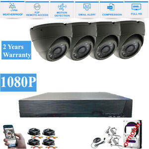 Hikvision Hilook 4Ch CCTV HD 1080P Night Vision Outdoor DVR Security System Kit
