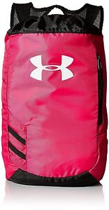 Under Armour Trance Sackpack Tropic PinkBlack One Size