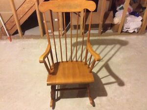 rocking vintage wood adult $ 45 00 vintage wood adult rocking chair ...