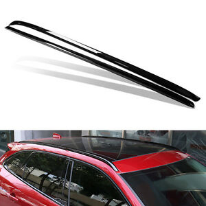 Black Auto Car Top Roof Racks Cross Bars Luggage Carrier Mount For Jaguar F-PACE