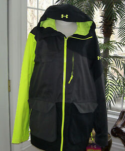 **LAST ONE**NWT*MENS*UNDER ARMOUR*COLD GEAR*INFARED*COLOR BLOCK*JACKETPARKA*BUY