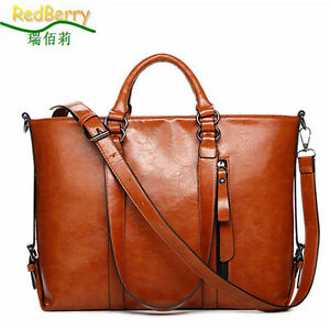 2015 New Fashion Genuine Leather bags Tote Women Leather Handbags Women Messe...