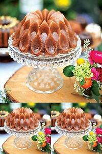 Nordic Ware Crown Bundt Ring Cake Bread Pastry Silicone Mold Pan Bakeware Tool