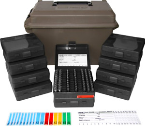 Ammo Can Combo Hunting Shooting Cases 1000 Rounds Holder Bullets Storage Box 9mm