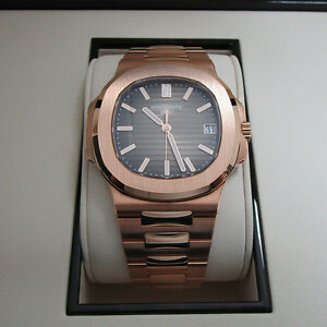 Patek Philippe Nautilus 5711-1r 18K Rose Gold Automatic Mens Watch Unworn