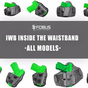 IWB Inside Waistband Holster For Glock CZ Beretta Walther Taurus Ruger Sig S
