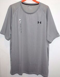 UNDER ARMOUR HEAT GEAR LOOSE ACTIVE TOP SHIRT MEN 2XL GRAY XXL