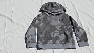 NWT Boy's Under Armour Sportstyle Fleece Printed Youth Small 1284571 035
