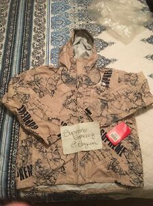 Supreme TNF DS Venture XL jacket Tan Box Logo North Face Odd Future XLarge SS12