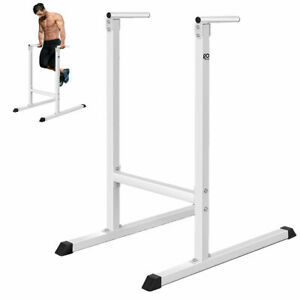 Goplus Dipping station Dip Stand Pull Push Up Bar Fitness Exercise Workout Gym