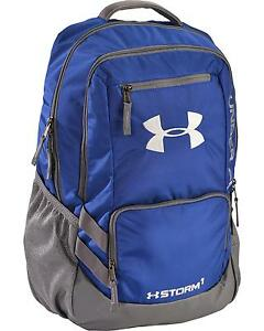 Under Armour Royal Blue Storm Hustle II Backpack  Royal One Size