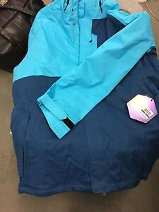 BNWT Authentic Under Armour Storm Jacket Hoody ! 2XL Aqua Blue! Warm Rain $200