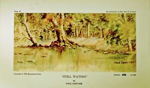 Paul Sawyier Collector Print Still Waters