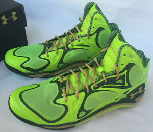 Under Armour TB Micro G Anatomix Spawn 1248426-392 Notre Dame Stephen Curry 12.5