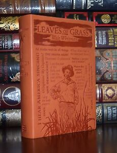 Leaves of Grass by Walt Whitman Brand New Unabridged Deluxe Soft Leather Feel $24.75
