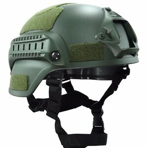 Tactical Helmet Gear Airsoft Military Cover With Night Vision Sport Camera Mount