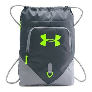 Under Armour Unisex Under Armour Undeniable Sackpack Stealth Gray One Size