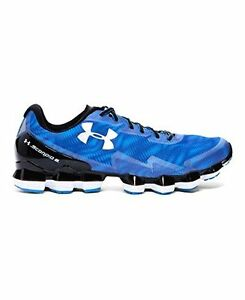 Under Armour Mens UA Scorpio 2 Running Shoes 8 BLUE JET