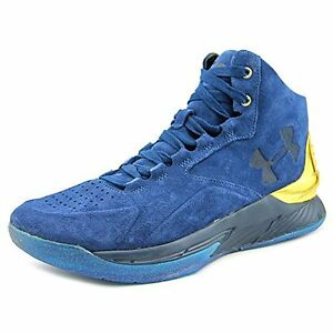Under Armour UA Curry 1 Lux Mid SDE Mens Hi Top Basketball Trainers 1296617