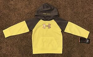 Under Armour Boys Toddler Sweater Hoodie Size 2T Kids New