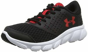Under Armour Boy's Pre School Rave RN 1285436-001 BlackWhiteRed