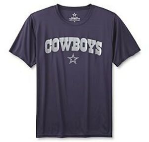 Dallas Cowboys NFL Men's Cool Dri-Fit Navy Short Sleeve Team T-Shirts: L-XL