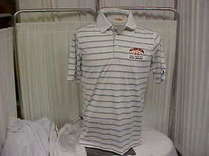 NCAA Auburn Tigers Sideline Under Armour Heat Gear Short Sleeve Polo Size Small