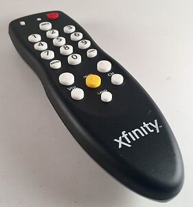 COMCAST XFINITY REMOTE CABLE DTA UNIVERSAL REMOTE CONTROL w BATTERY INCLUDED.