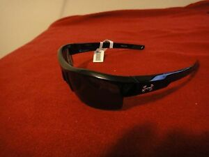 UNDER ARMOUR IGNITER SHINY BLACK POLARIZED 8600028-5108 MENS SUNGLASSES