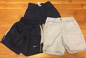 Boy Shorts 3 Pairs Gap Nike Dry-fit Carter's Sz 3T Toddler Great Codition