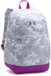 Under Armour Girls' Favorite Backpack WhitePurple Rave One Size