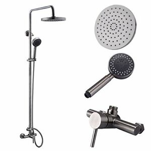 KES X6050A Bathroom SUS304 Stainless Steel Faucet Showering System Lead-Free Bar