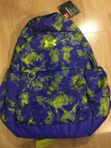 Under Armour Storm1 Backpack Youth Girls Purple And Yellow New!! $45.00