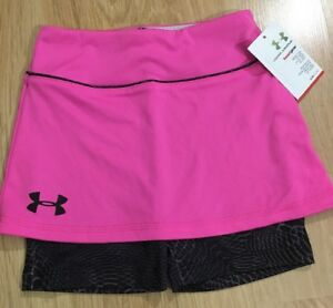 Under Armour Shorts Baby Toddler Size 4T Pink And Black NEW!!