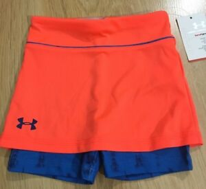 Under Armour Shorts Baby Toddler Size 24 Months Blue And Orange NEW!!
