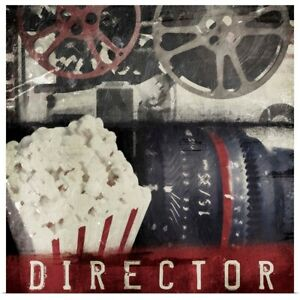 Director Poster Art Print,  Home Decor