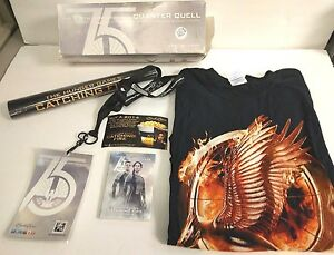 LIMITED EDITION RARE PROMO Hunger Games Quarter Quell PACK T-SHIRT Cards Lanyard