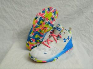Under Armour Curry 2 Girls Boys Birthday Youth Shoes Sz 10K 10 Basketball