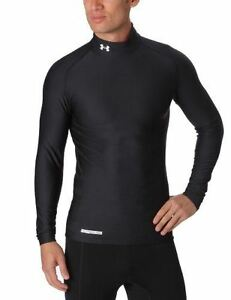 Men's UA Gameday ColdGear Longsleeve Compression Mock Tops by Under Armour