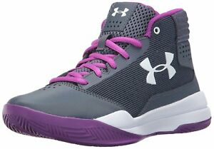 Under Armour Girls Grade School Jet 2017 Basketball Shoes 4- Pick SZColor.