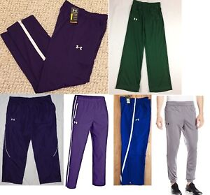 Under Armour Team Men's Athletic Pants Colors Choose S M XL 2XL 2XLT 3XL $50~$60