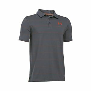 Under Armour Apparel Boys Playoff Stripe Polo Shirt- Pick SZColor.