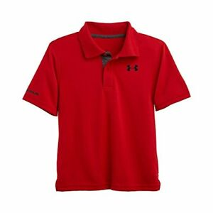 Under Armour Boys 2-7 Little Ua Logo Short Sleeve Polo- Pick SZColor.