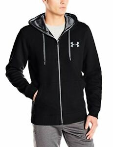 Under Armour Apparel Mens Rival Fleece Fitted Full Zip Hoodie- Pick SZColor.